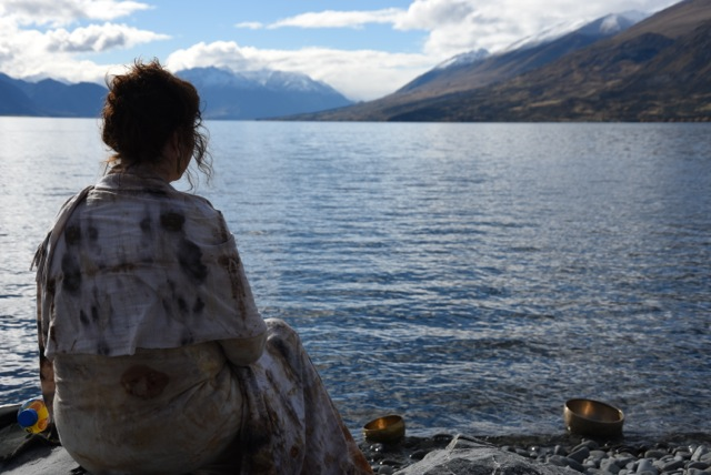 Meditating Lake Ohau May 2015 DSC_3944