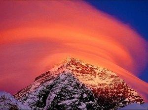 Red sky over Aoraki 13151870_1363783593639123_6349335537369247938_n