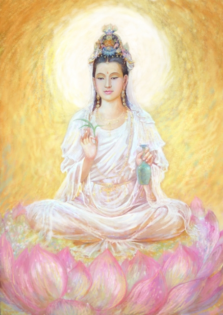 golden avalokitesvara_kuan_yin_by_tigermyuou