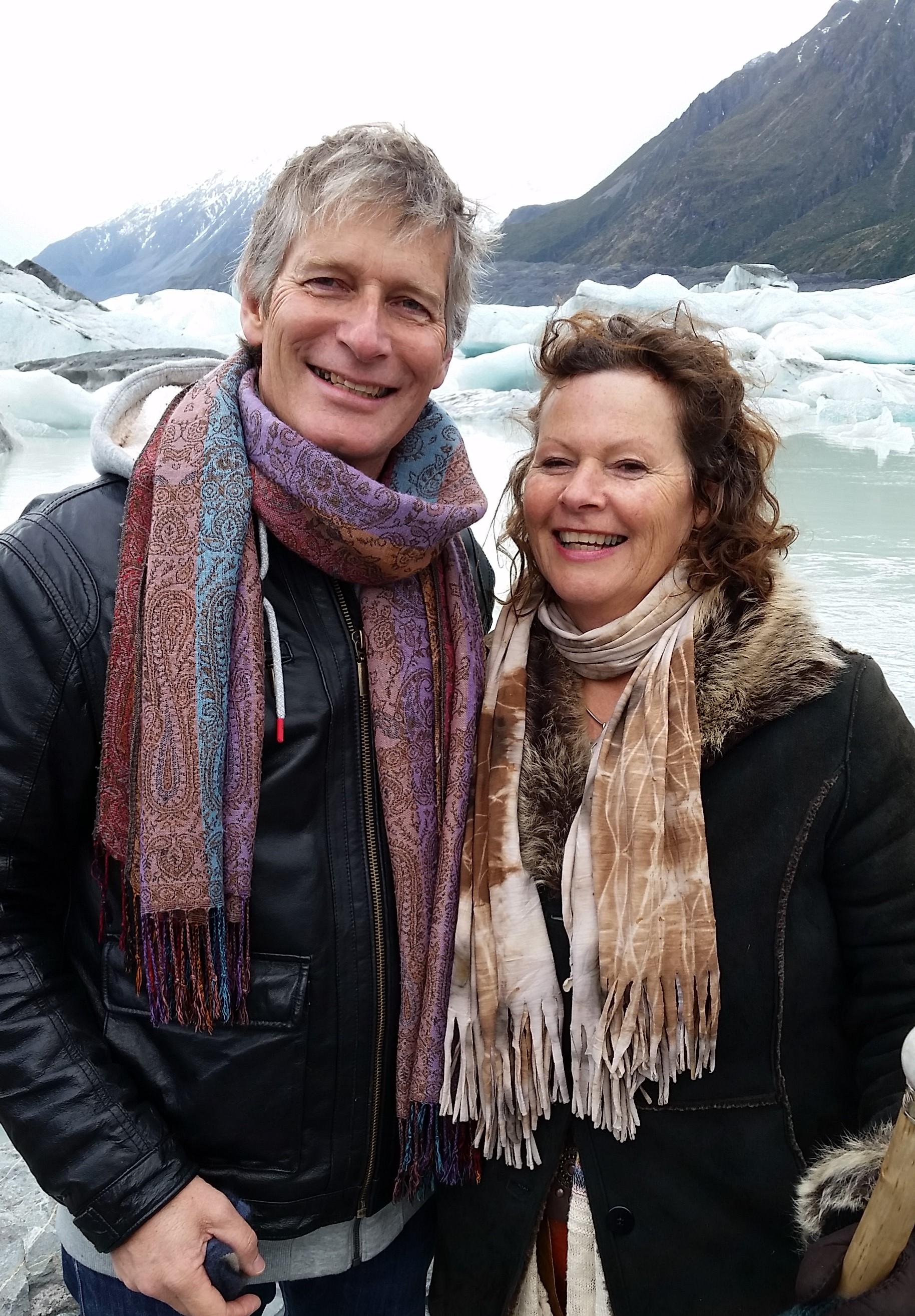 Raeul and Annwyn Tasman Glacier Lake