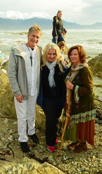3 Raeul, Annwyn, Dellaina after Equinox Ceremony Sally Brake