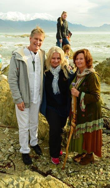 3 Raeul, Annwyn, Dellaina after Equinox Ceremony Sally Brake