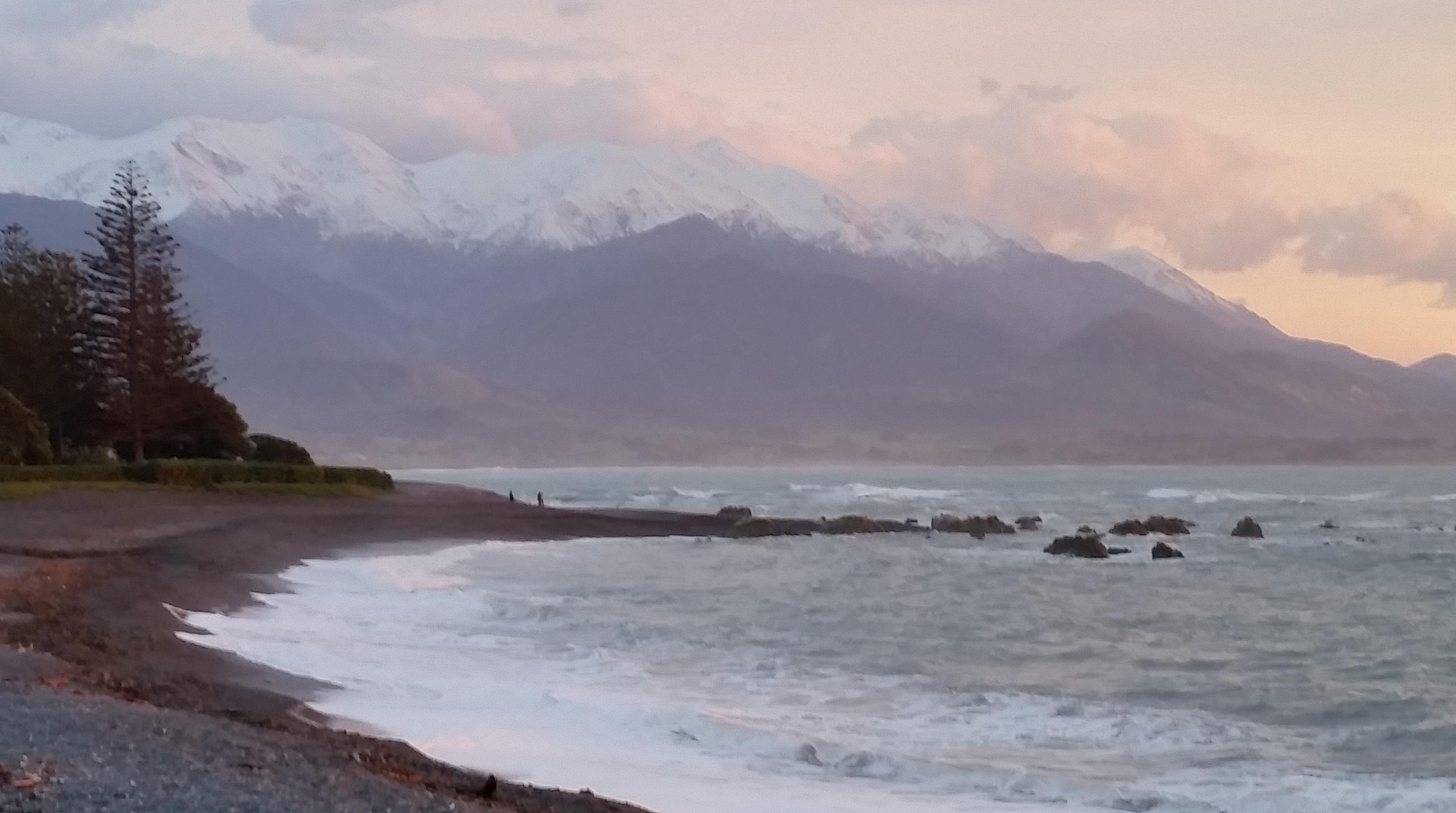 Kaikoura Bay early morning mist 2017