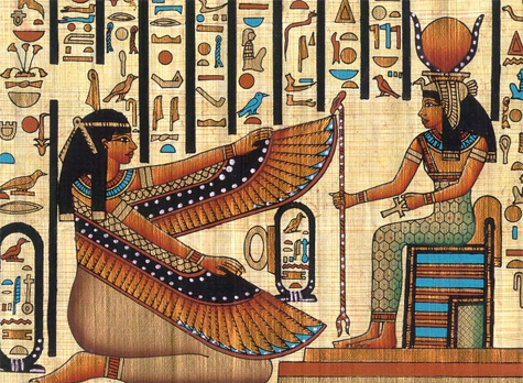 Isis and Hathor